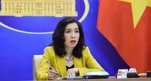 Việt Nam mong muốn các nước đóng góp tích cực vào tình hình ở Biển Đông