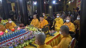 Chùa Phúc Khánh tổ chức cầu an trực tuyến Rằm tháng Giêng