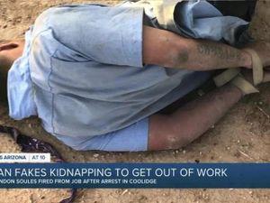 Người đàn ông tự bắt cóc chính mình vì lý do... không muốn đi làm