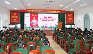 Trường Sĩ quan Thông tin tập huấn cán bộ học kỳ 2 năm học 2020 – 2021