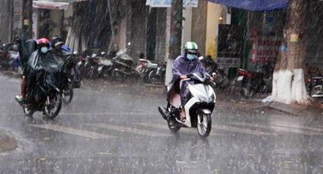 Không khí lạnh tràn về, Bắc Bộ mưa nhiều nơi