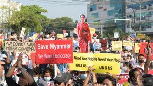 Tình hình Myanmar: Kéo dài lệnh hạn chế nhập cảnh, LHQ lên án mạnh mẽ chính quyền quân sự