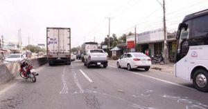 Liên tiếp hai vụ tai nạn giao thông trên QL1 qua Vĩnh Long