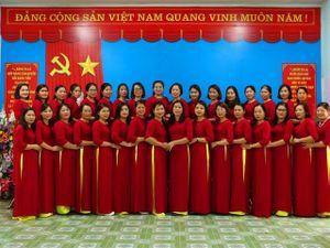 Trường mầm non Việt Vinh: Tích cực đổi mới công tác dạy và học