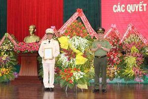 Công bố quyết định điều động Giám đốc Công an tỉnh Đắk Lắk