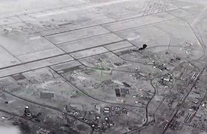 Video giải mật cảnh mưa tên lửa Iran trút tới tấp xuống căn cứ Mỹ