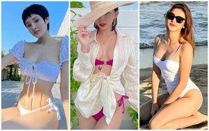Loạt ảnh bikini cực nóng bỏng đầu năm của dàn mỹ nhân: Hiền Hồ, Tóc Tiên khiến fan 'mất máu'