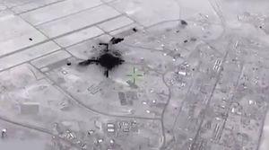 Công bố video Iran 'dội tên lửa' vào căn cứ Mỹ ở Iraq