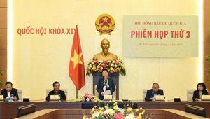 1.076 người được giới thiệu ứng cử đại biểu Quốc hội khóa XV