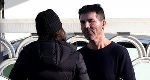 'Ông trùm' Simon Cowell và bạn gái cãi vã căng thẳng trên phố