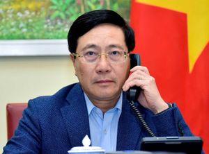 Việt Nam và Singapore mong tình hình Myanmar sớm ổn định