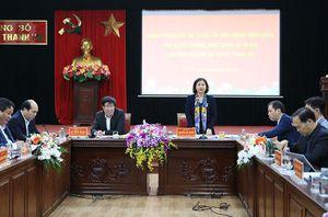 Phó Bí thư Thường trực Thành ủy Nguyễn Thị Tuyến: Xây dựng cơ chế đặc thù để Thanh Trì hoàn thành tiêu chí lên quận