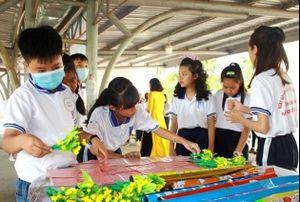 Đồng Tháp cho học sinh khu vực biên giới trở lại trường