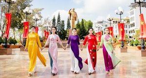 Công an TP Cần Thơ tổ chức hội thi 'Duyên dáng áo dài qua ảnh'