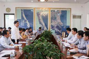 Thứ trưởng Bộ Giao thông vận tải làm việc tại Khánh Hòa