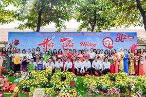 Hội thi cắm hoa 'Phụ nữ Vedan 30 năm đồng hành cùng công ty'