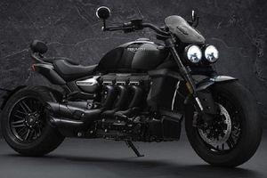 'Xế nổ' Triumph Rocket 3 Black Edition, giới hạn chỉ 1000 chiếc
