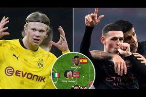 Đội hình U20 xuất sắc nhất châu Âu 2021: Hàng công siêu khủng