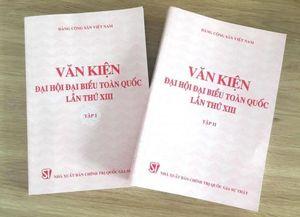 Xuất bản Văn kiện Đại hội XIII của Đảng và tài liệu phục vụ công tác bầu cử
