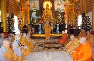 Phật giáo quận Gò Vấp bố-tát đầu năm, họp chuẩn bị đại hội