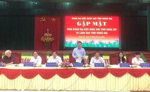 Ông Võ Văn Thưởng tham dự cuộc gặp mặt đại biểu Quốc hội tỉnh khóa XIV và lãnh đạo tỉnh Đồng Nai