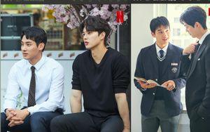 Song Kang và Kim So Hyun siêu ngọt trong hậu trường 'Love Alarm 2'