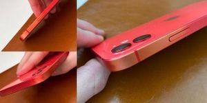 Cạnh viền iPhone 12 có hiện tượng phai màu