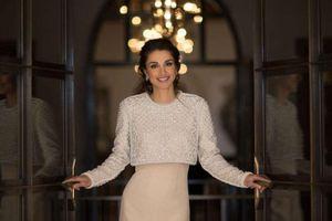 Hoàng hậu Jordan mặc đẹp bậc nhất thế giới