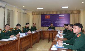 Việt - Nga tiếp tục hợp tác thực hiện nhiệm vụ đặc biệt