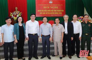 Đại biểu Quốc hội tỉnh Thanh Hóa tiếp xúc cử tri huyện Nông Cống
