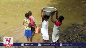LHQ cảnh báo tình trạng trẻ em thiếu nước sạch