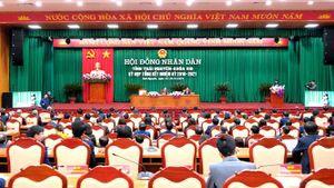 Khai mạc Kỳ họp tổng kết HĐND tỉnh khóa XIII