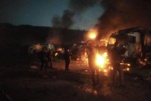 Chiến đấu cơ Su-34 Nga dội bom một nửa tỉnh Idlib chỉ trong vài giờ