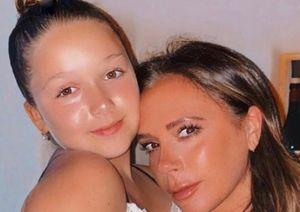 Con gái 10 tuổi trang điểm cho Victoria Beckham