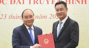 Trao quyết định bổ nhiệm ông Lê Ngọc Quang giữ chức Tổng Giám đốc Đài Truyền hình Việt Nam