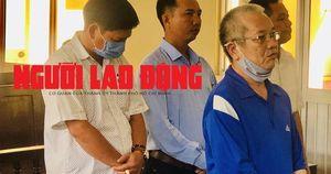 CLIP: Cựu Giám đốc Trung tâm Kỹ thuật TN-MT Bạc Liêu cùng 3 thuộc cấp hầu tòa