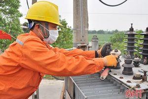 Điện lực Nghi Xuân xóa bỏ cấp điện áp 10 kV