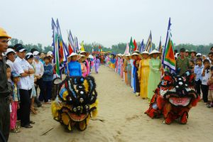 Lễ hội Bà Thu Bồn đón bằng Di sản văn hóa phi vật thể cấp quốc gia