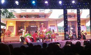 Lễ công bố quyết định và đón nhận bằng Di sản văn hóa phi vật thể Lễ hội Bà Thu Bồn tại Quảng Nam