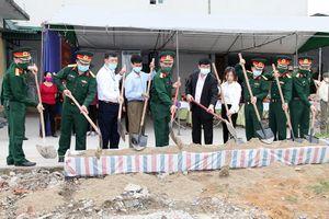 Ban CHQS TX Đông Triều: Khởi công xây dựng 'Nhà đồng đội'
