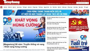 Mời bạn đọc góp ý giao diện mới của Tiền Phong Online
