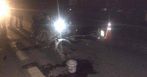 Hòa Bình: Hai xe máy tông nhau, một người tử vong, một bị thương
