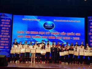 Học sinh Lào Cai duy trì thành tích cao tại Cuộc thi KHKT cấp quốc gia