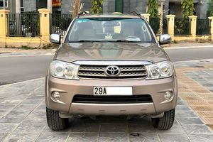 Toyota Fortuner 2010 cũ chạy chán, bán vẫn hơn 450 triệu ở Hà Nội