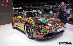 Porsche Taycan phiên bản đặc biệt được ra mắt tại Thái Lan