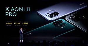 Mi 11 Pro ra mắt: nâng pin, chống nước IP68, camera quay chậm 1920fps, giá từ 761 USD