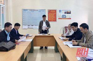Đảng bộ huyện Thọ Xuân chú trọng công tác kiểm tra, giám sát, ngăn ngừa vi phạm