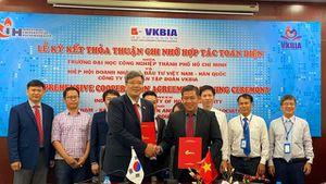 VKBIA - IUH: Hợp tác phát triển nguồn nhân lực chất lượng cao