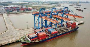 Hàng hóa qua cảng biển Hải Phòng tăng mạnh hai con số