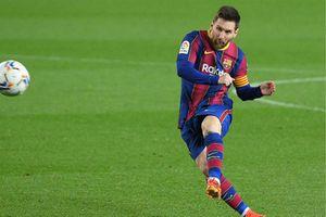 Bàn thắng từ ngoài vòng cấm: Messi gấp 6 lần Ronaldo